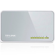 Switch Roteador Tp-link Tl-sf1008d De 8 Portas 10/100mbps