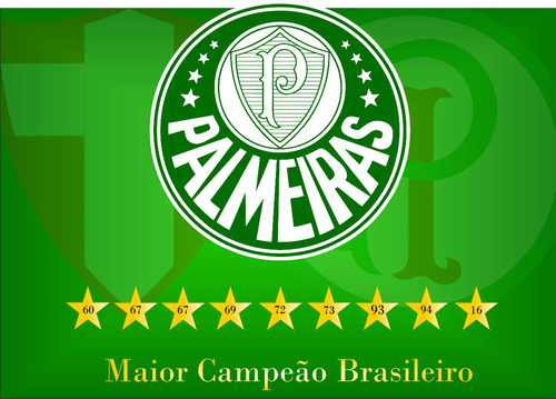 Bandeira Comemorativa Palmeiras Campeão Brasiliero 2016 5b6988154639e