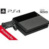 Ps4 Playstation 4 500gb Seminovo + 1 Controle + 1 Jogo