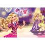 Painel Decorativo Festa Infantil Barbie (mod4)