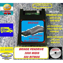 Emulador Usb Yamaha Psr630 C/ Pendrive 3500 Arquivos Brinde