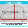 Passarinheira Telha Americana Cristal Kit 10 Metros