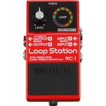 Boss Rc-1 Loop Station Pedal Guitarra Baixo Violão Rc1 Rc 1