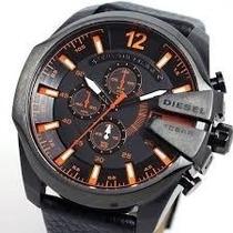 Relógio Diesel Dz 4291 Pulseira De Aço Preto Frete Grátis