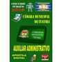 Apostila Con Camara Itatiba Sp Auxiliar Administrativo 2015