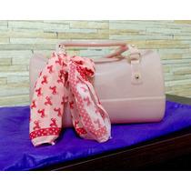 Bolsa / Candy Bag Petit Jolie Rosa Nova Sem Uso!!!