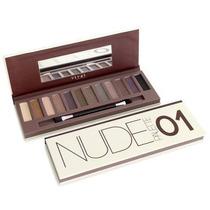 Palette Nude 1 Vivai Estojo Kit 12 Sombras = Naked Urban 01