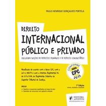 Livro Em Pdf. Direito Internacional Público E Privado - 2015