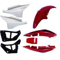 Carenagem Kit Completo Titan 150 Sport Vermelho 06/07/08