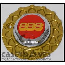 Calotinha Calota Central Roda Aro 15 Bbs Zunky Dourada- 1 Pç
