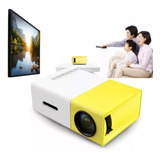 Mini Projetor Portátil Led 600 Lumens Full Hd 1080p Hdmi Av