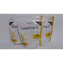 Kit 3 Refis Pó Descolorante Lightner Germen De Trigo 300g