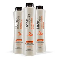 Escova Progressiva Definitiva Mandioca Light Hair 3x1 Litro