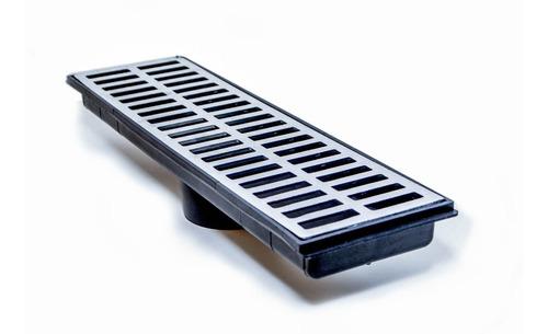 Ralo Coletor De Água Com Grelha 15x50 Cm Grelha Em Aluminio