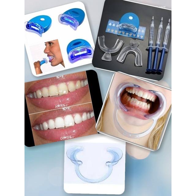 Kit Clareador Dental Whiteness 44 Com Abridor De Boca Em Congonhas