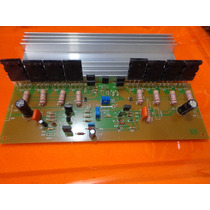 Placa Amplificador 500w Montado/serve Na Signus Pa 1800