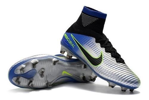 9cf818f7dd315 Chuteira Nike Mercurial Superfly V Neymar Fg