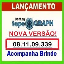 Bentley Topograph 08.11.09.339 Completo + Curso Em Vídeos.