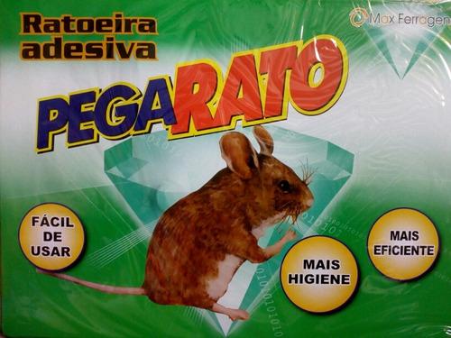 Kit 10 Ratoeira Adesivo Pega Rato