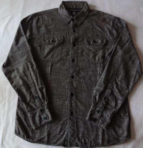b3f2fc112 953 - Camisa Element Importada Manga Longa Tamanho M
