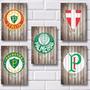 Placas Decorativas Mdf - Escudos Do Palmeiras