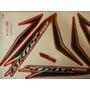 Adesivo Nxr 150 Bros 13 Vermelha Completo Quali