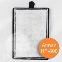 Refil Para Filtro Externo Atman Hf-600 / 10 Unidades