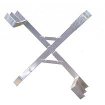 Kit 10 Suporte Reserva Técnica Cruzeta P/ Poste Fibra Óptica