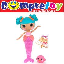 Boneca Magical Mermaid Sand Lalaloopsy Buba; Infantil Lala