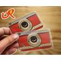 Cartão De Visita Pvc Branco Ou Transparente 8,5x5,4cm- 500un