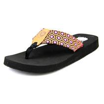 Yellow Box Jolan Mulheres Canvas Thong Sandal