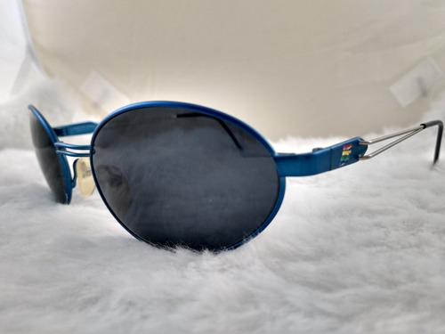 ce1c34fa2 Óculos Sol, Vintage, Metal, Legítimo Benetton F1 7592c3