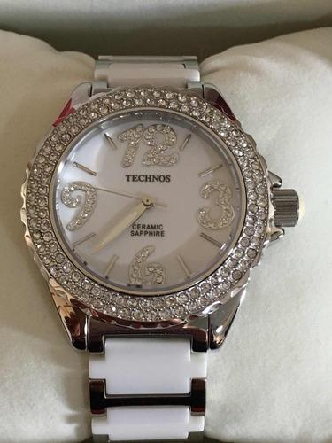 da6a3833037 Relógio Technos Ceramic Feminino Novo!