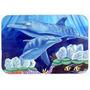 Dolphin Sob O Mar De Mesa De Vidro Corte Grande