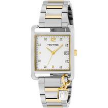Relógio Feminino Technos Misto Prata Com Dourado Gm10hx/5k