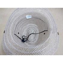Chapéu De Palha Sintética Country Rodeio Peão - Mesclado