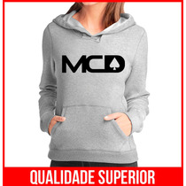 Moletom More Core Division Mcd Feminino Casaco Canguru Blusa