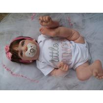 Bebê Reborn Saskia Corpo Inteiro - Pronta Entrega Promoção