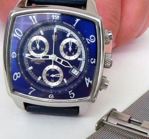 55849338bd6 Relogio Lancaster Fundo Azul Loucura Para Vender Rapido - R  295 en ...