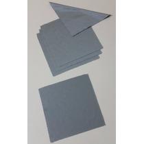 Kit 10 Flanelas De Limpeza Para Óculos Sol E Grau Cinza Lisa