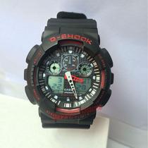 Relógio Cassio G-shock Ga-100 Resistente A Choque