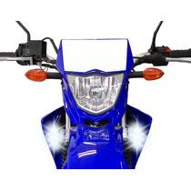 Farol Auxiliar Milha Neblina Luz Led Moto Yamaha Xtz 125