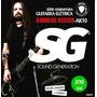 Encordoamento 010 Sg Guitarra Andreas Kisser 6670 - 5 Sets