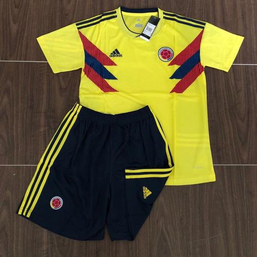 Camisa Da Colombia 2018 C  Calção Frete Gratis. R  131.9 292e2908c3cc8