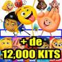 Kit Emoji O Filme Scrapbook, Papel Digital Png, Jpg, Imagens
