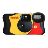 Camera Fotográfica De Uso Único Kodak Com Flash Descartavel