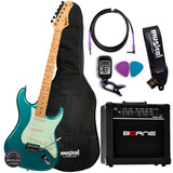 Guitarra Tagima Tg 530 Kit Completo Com Cubo Borne Promoção!