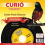 Cd Canto-do Curió Pavarotti Canto Praia Clássico