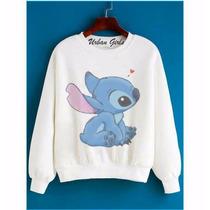 Moletom Blusa Sueter Abrigo Lilo Stitch Love Disney 02