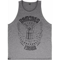 Camisetas Regatas Baratas Bandas Metal Punk Rock Ramones